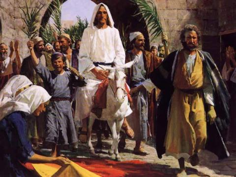 An Ignatian Reflection on Palm Sunday
