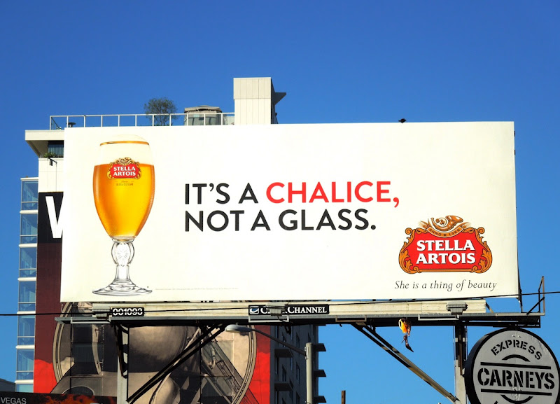 It's a chalice, not a glass