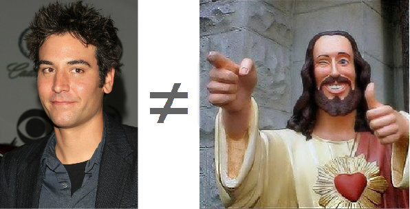 Josh Radnor is not Jesus