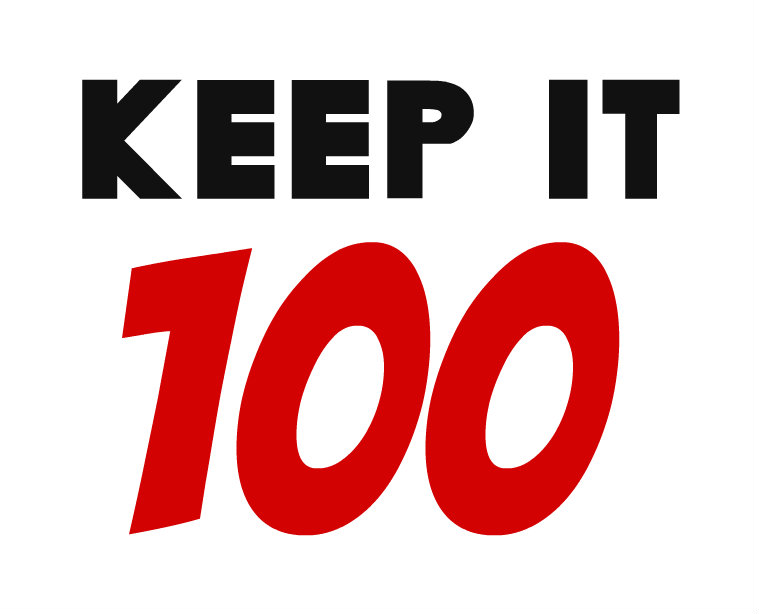 "This Lent, ""Keep it 100"""