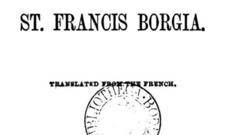 The Spiritual Exercises of St Francis Borgia