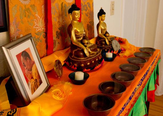 Buddhist water bowls
