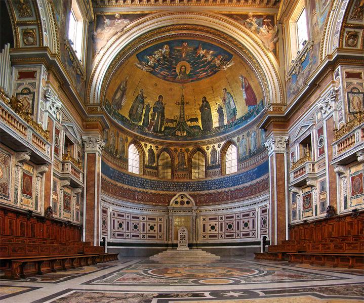 Chair at Basilica of St John Lateran