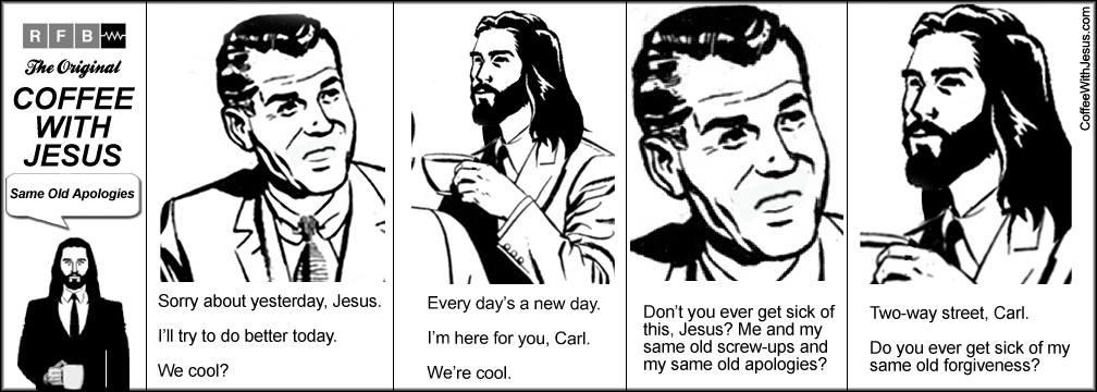 coffee with jesus forgiveness