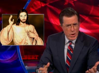 colbert and jesus