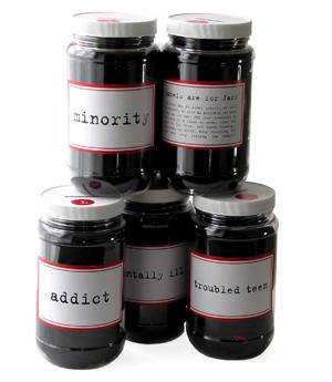labels jars