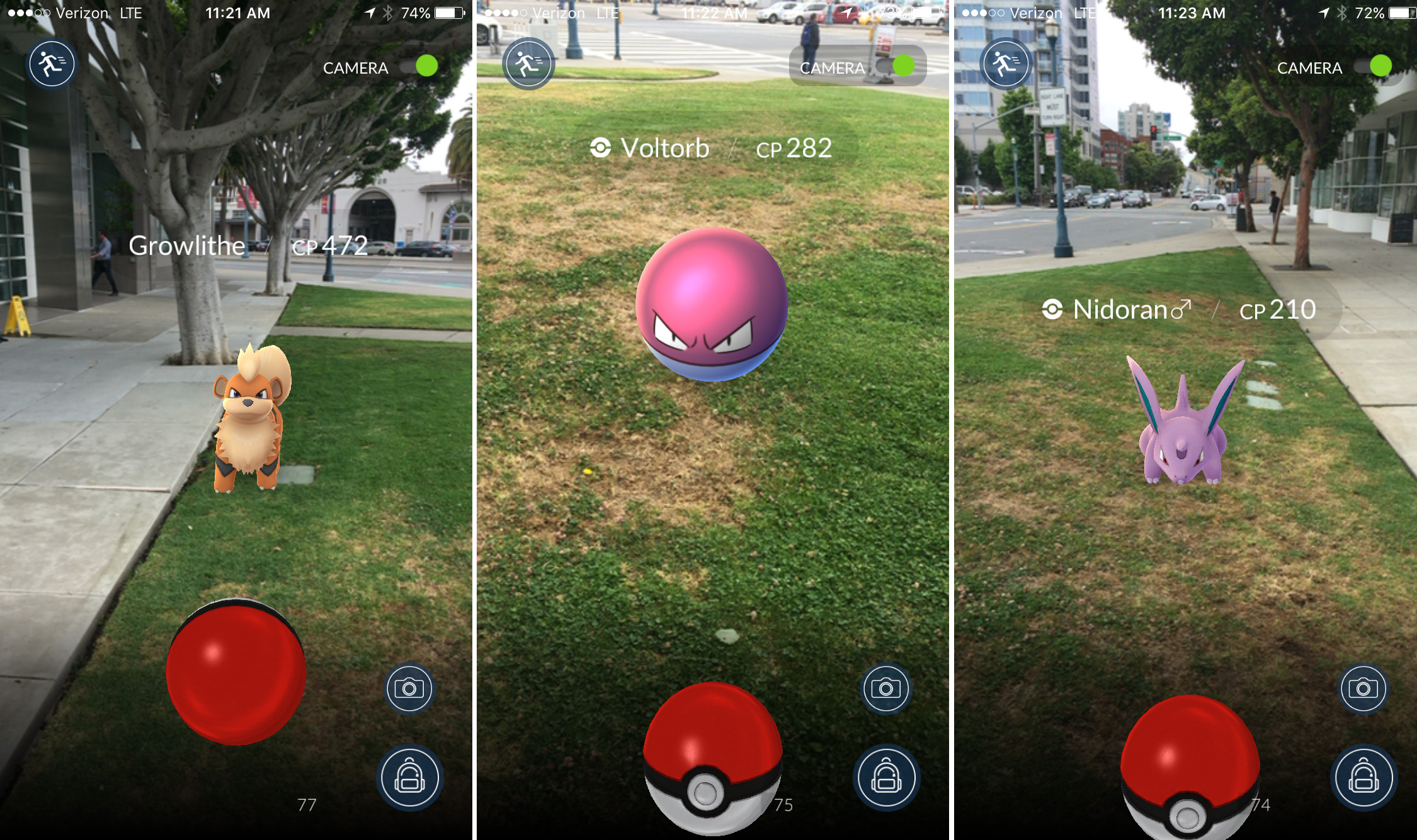 pokemon go demo