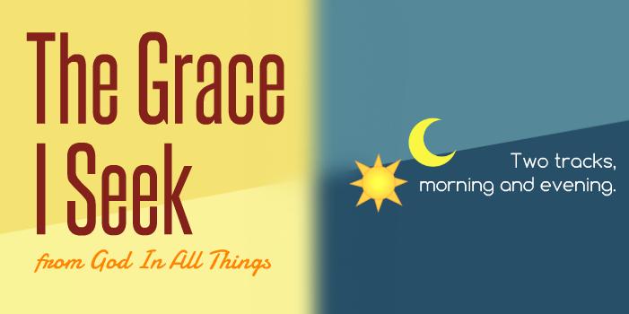 The Grace I Seek Logo